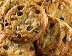 picture of choc chip cookies